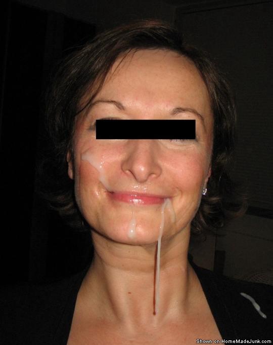 Amateur mature facial body