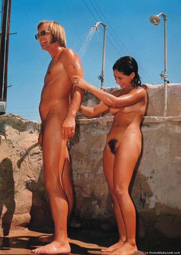 wife cheating in sauna