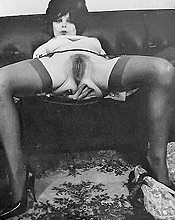Vintage Pornography - Lusty Beauties In Vintage Photography 281
