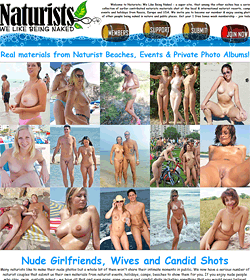 Naturists: We Like Being Naked