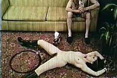 / 1969 Porn Video if a Hot Nympho Brunette that Can