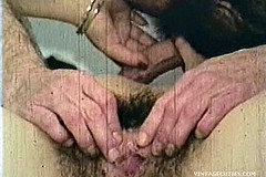 / Vintage Porn Video of a Couple Having Sex in 1960s Girl is Deep Throat Sucking Guy