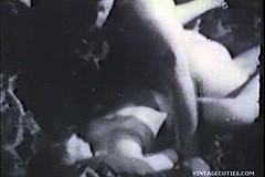 Classic Porn / Classic Porn Video of a Girl who was Caught Masturbating and then get Fucked Hard to Creampie Her Cunt Back in 1960