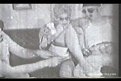 / A Group of Strange Dressed People Decide to Fuck in a Group Sex Orgy in this Vintage Porn Video by VintageCuties.com