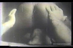 / Interracial Vintage Porn Video of a Man Cunnilingus where White Boy Licks Pussy of an Ebony Girl and She Has an Orgasm