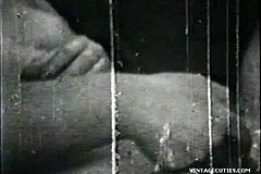 / Vintage Porn Video of a Couple Having Sex a Girl Wants to Show Tranny the Secrets of Female Love by Sucking His Dick