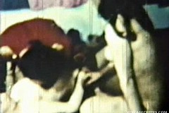 / Vintage Video of Teen Students Group Sex Orgy Girls Fucking for a First Time and Swallowing Every Drop of Cum