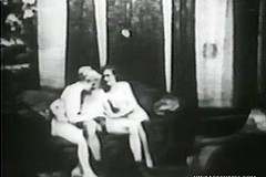 / Two Drunk Ladies Argued who Has Better Cock Sucking Skills so They Demonstrate that by Giving Head to this Man in Vintage Porn Video