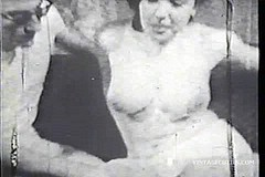 / A Young Writer Asked this Busty Teen to be His Muse by Dancing Naked for Him and Later He Fucks Her Ass in this Vintage Video
