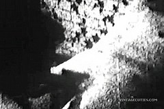 / Very Grainy Vintage Porn Video of a Big Dicked Man Feeding His Schlong to a Woman who Likes to Suck and Swallow