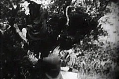 / A Man Spotted Peeing Ladies in a Meadow and then this Vintage Porn Video Shows the Threesome Group Sex Fucking