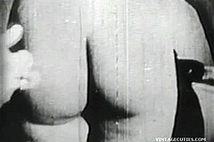 / Factory Worker Has a Lucky Day as He Meet a Woman that Never Sucked a Cock Before or even Fucked Vintage Porn Video