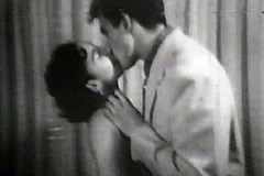 / Lonesome Housewife is Happy to Meet Her Lover in this Vintage Porn Clip so They Undress and Fuck Hard and Deep