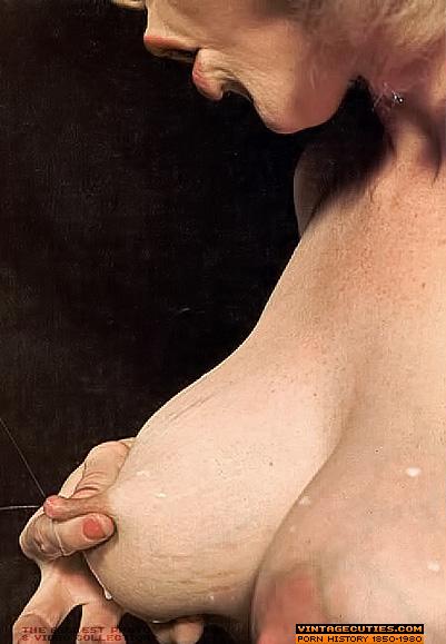 Vintage lactating tits
